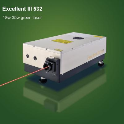 532 green laser is used to laser mark on ceramic knife