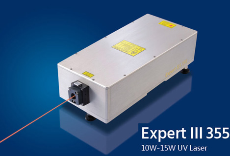 Expert III 355 Ultra-stable Nanosecond UV Laser 10W12W15W