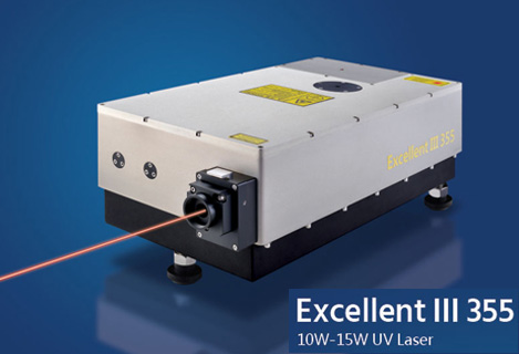 Excellent III 355 High-Power Ultraviolet Laser 10W-15W