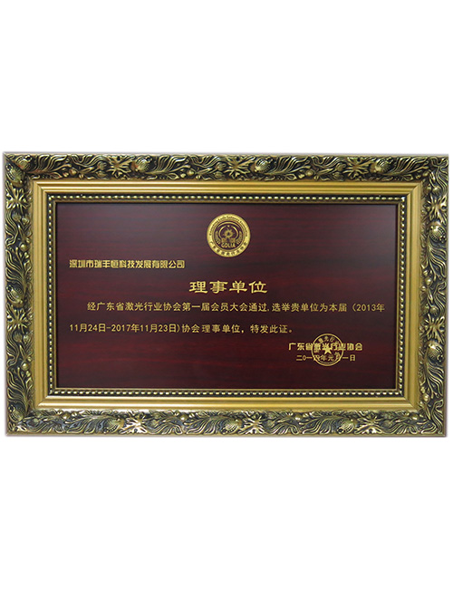 Member of the Guangdong Laser Industry Association