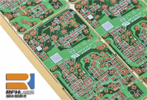 UV laser 355nm for engraving and marking Printed Circuit Board material
